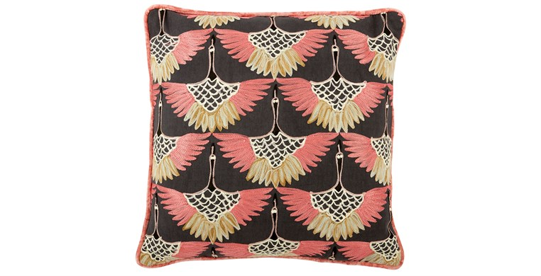 Aiko Embroidered Cushion