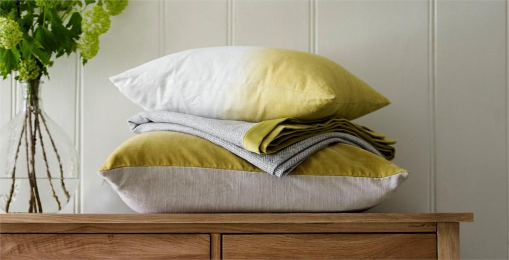 Dip Dye Cushions