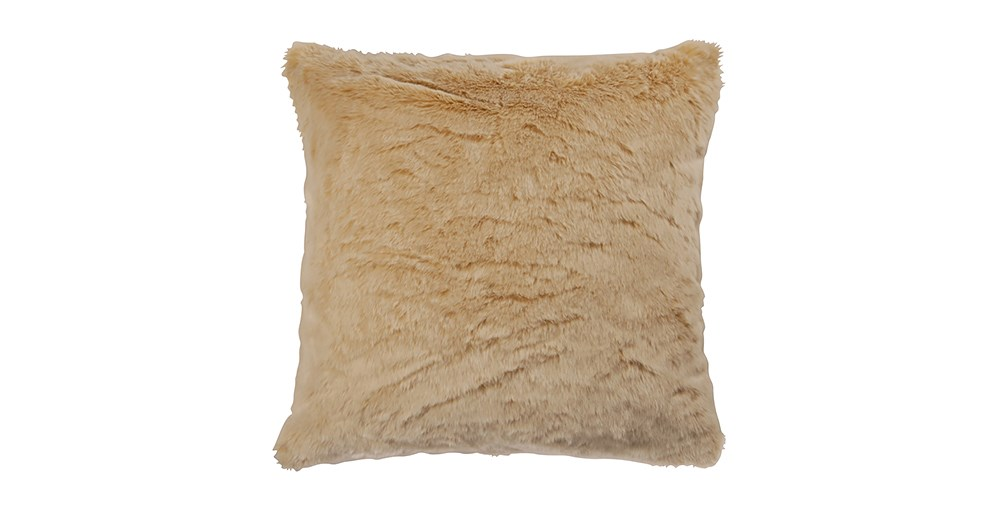 Marmotte Faux Fur Cushion