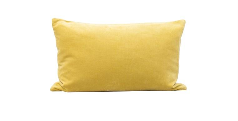 Velvet Cushion Citrine 50x30