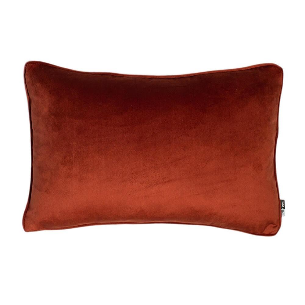 Paprika Velvet Cushion