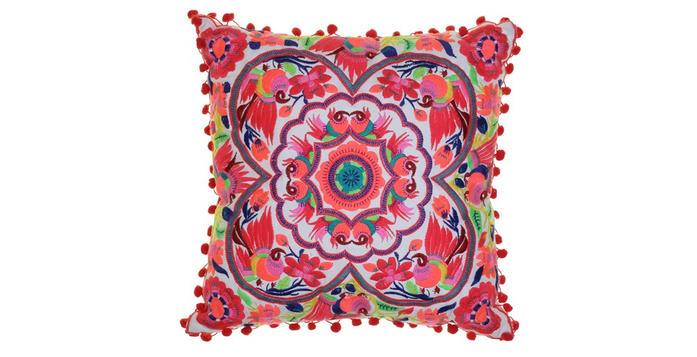 Seville Pompom Cushion