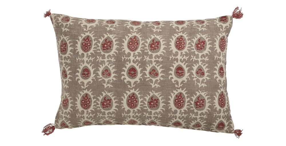 Sirsi Printed Tassle Cushion