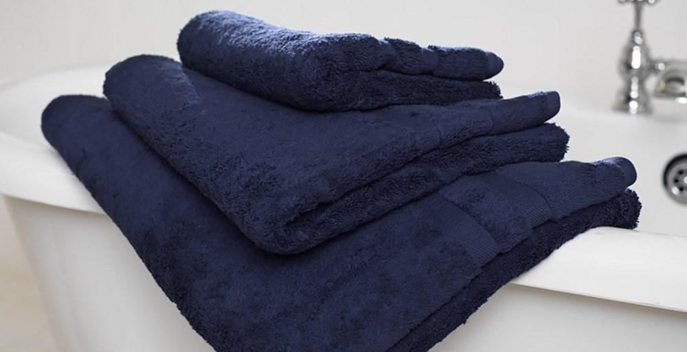 Cobalt Egyptian Cotton Towels