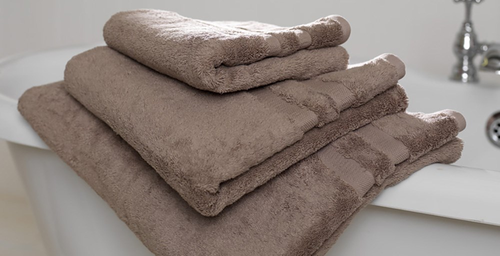 Pale Mocha Egyptian Cotton Towels