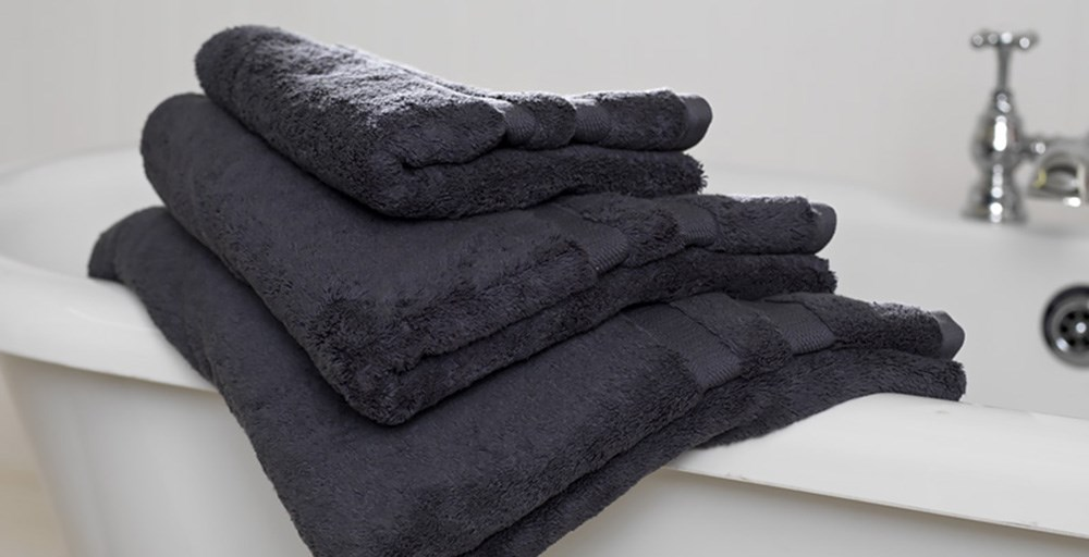 Slate Egyptian Cotton Towels