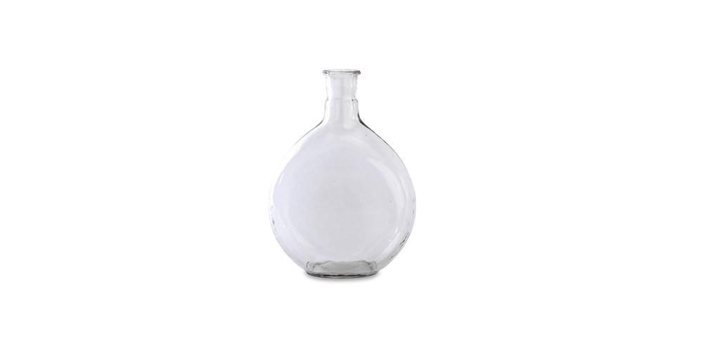 Alum Glass Bottle Vase