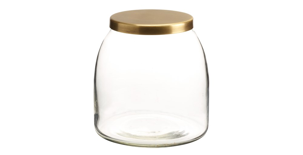 Lila Glass Jar