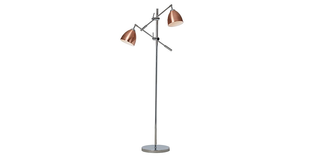 Bergen 2 Shade Floor Lamp