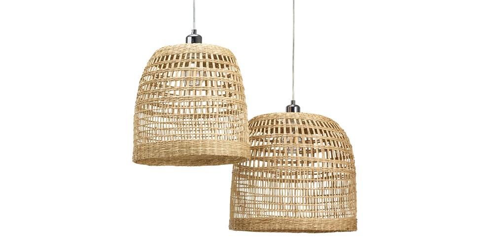 Kuta Lampshades (Set of 2)