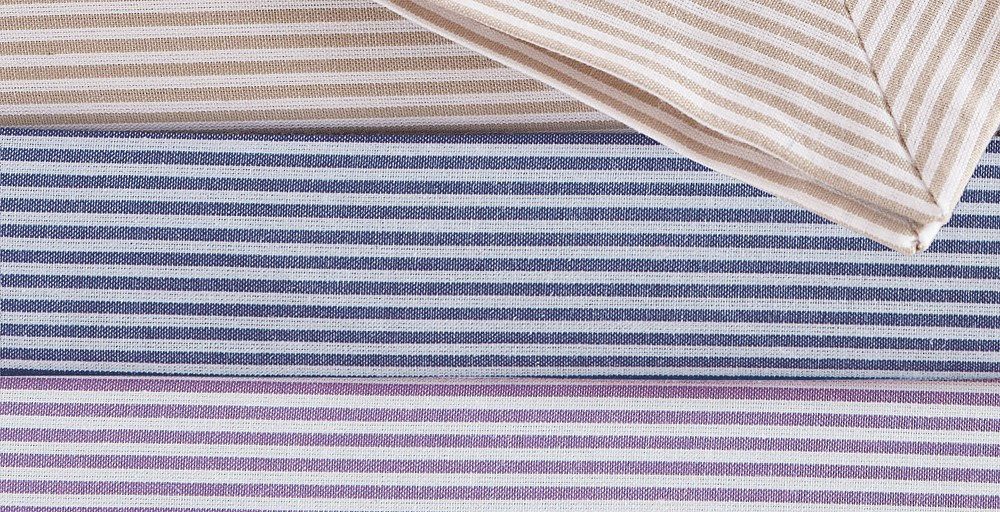 Candy Stripe Lilac Bed Linen