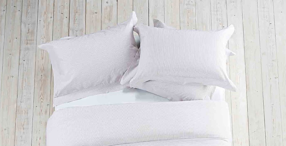 Candy Stripe Grey Bed Linen