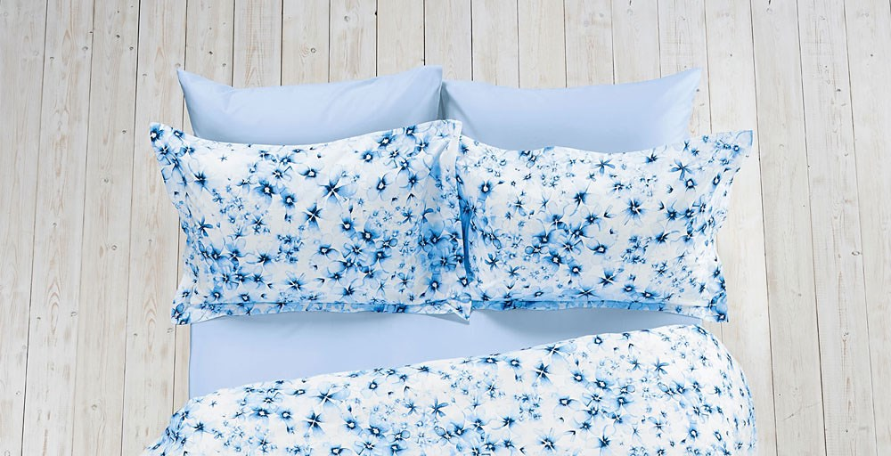 Watercolour Floral Bed Linen