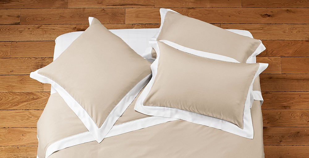 William Bed Linen - Biscuit