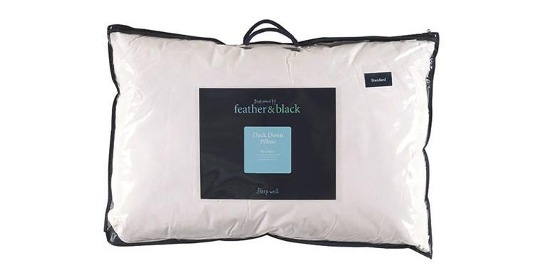 English Duck Down Standard Pillow Firm