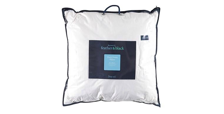 English Duck Down Continental Pillow Soft / Medium