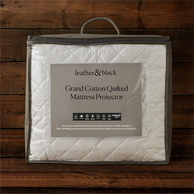 Grand Cotton Quilted Mattress Protector