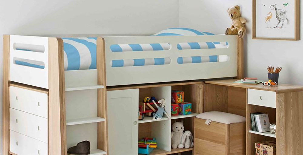 Archie Cabin Bed - Archie Cabin Bed Childrens Beds Feather & Black