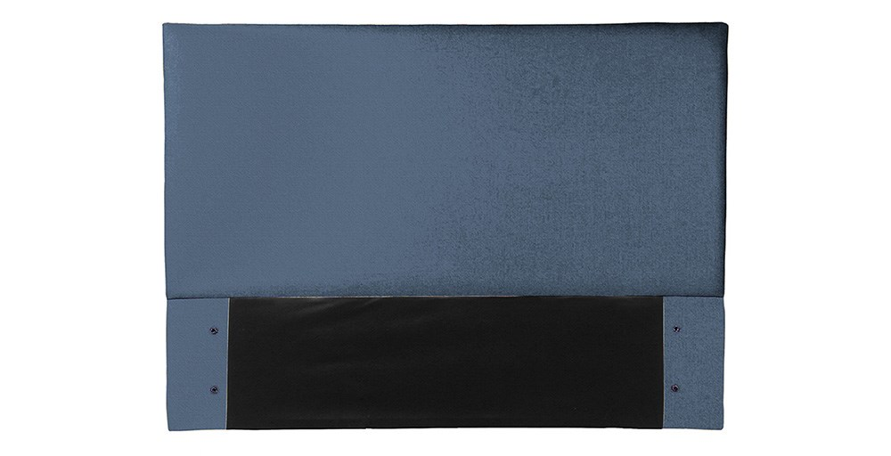 Cameron Double Full Headboard - Indigo Plush Velvet