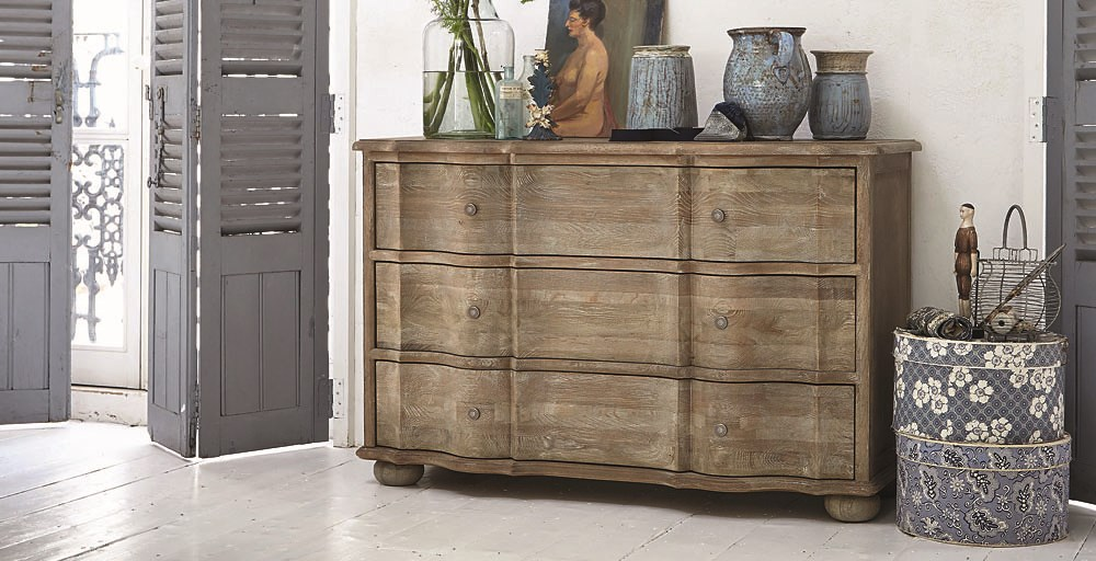 Emporium Grande 3 Drawer Chest