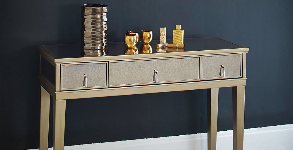 Gatsby Mirror Console Table