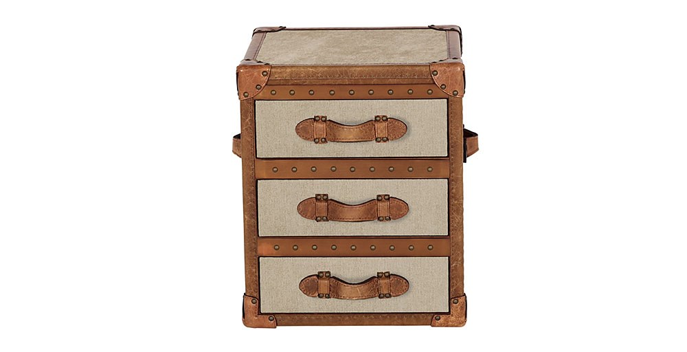 Houston Bedside Oatmeal Trunk