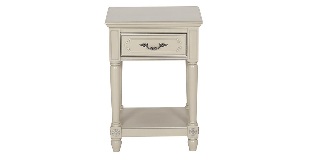 Lille 1 Drawer Bedside Table