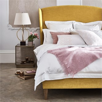 Louis Bedstead - Upholstered