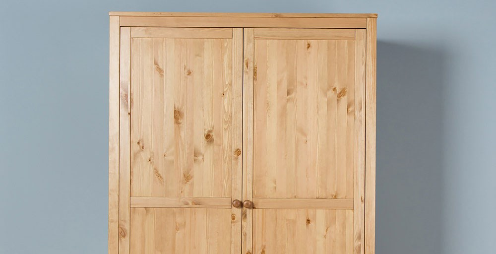 Malvern Children's 2 Door Wardrobe
