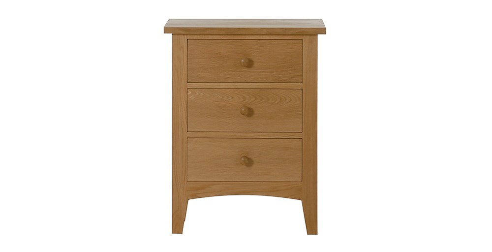Marblehead Childrens 3 Drawer Bedside Table