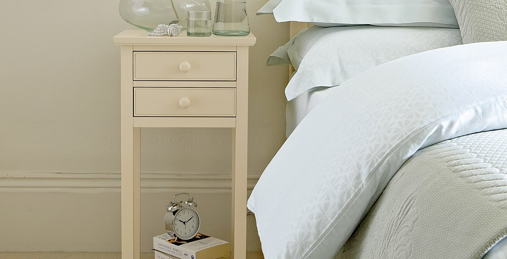 Olivia 2 Drawer Bedside Table