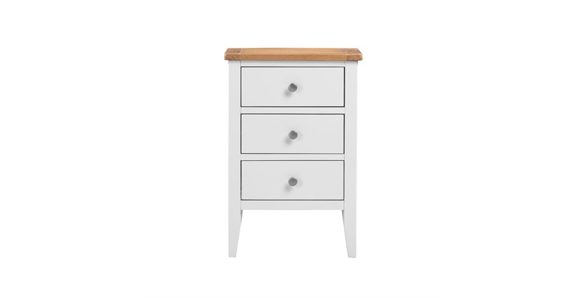 Padstow 3 Drawer Bedside Table