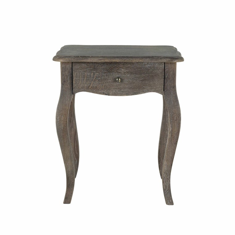 Sienna Grey Bedside Table