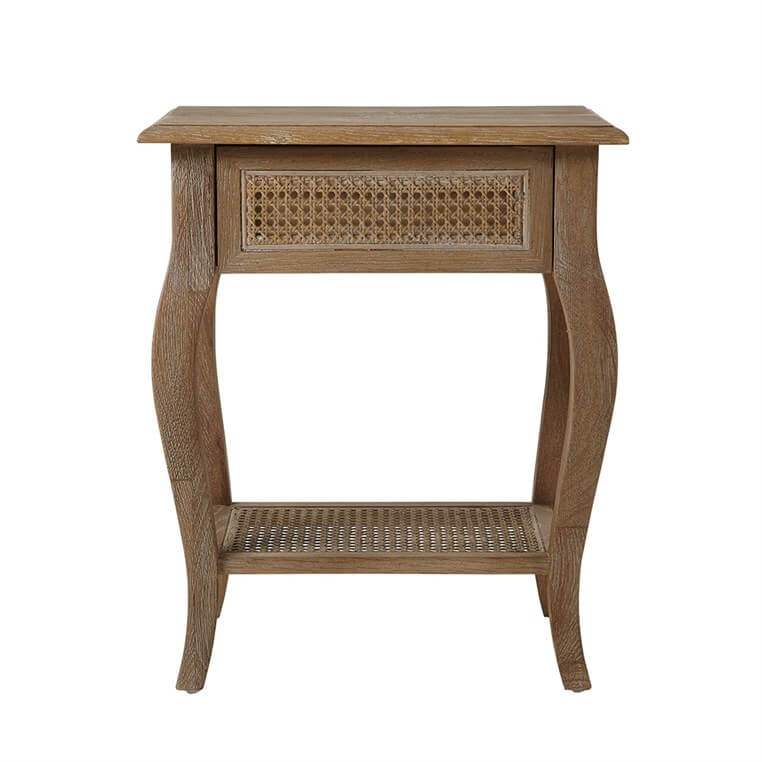 Sienna Rattan Bedside Table