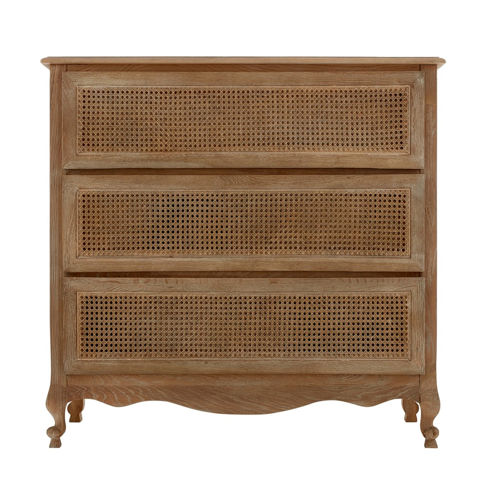 Sienna Rattan 3 Drawer Chest