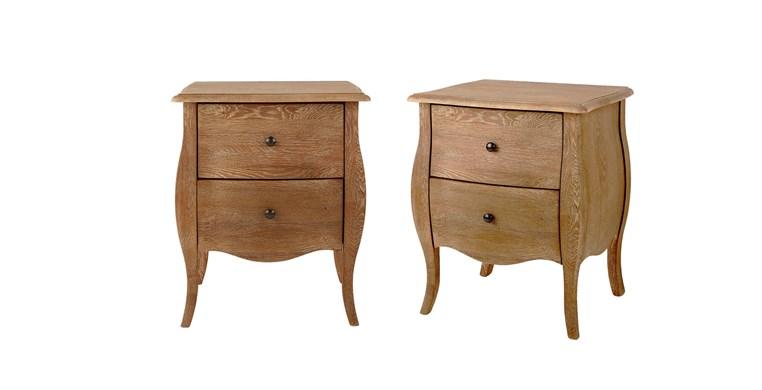 Sienna 2 Drawer Bedside Tables
