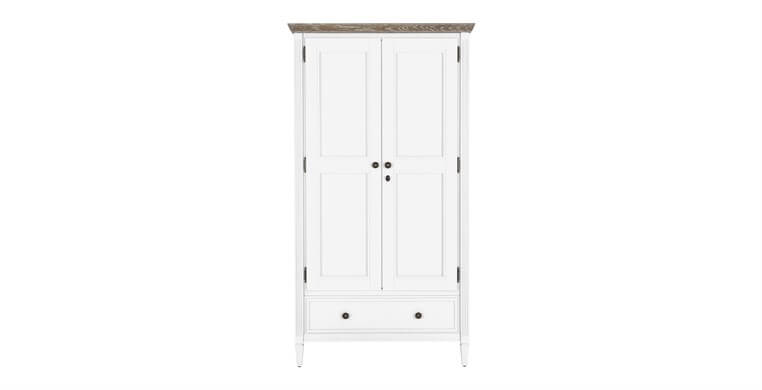 Verona White Wardrobe