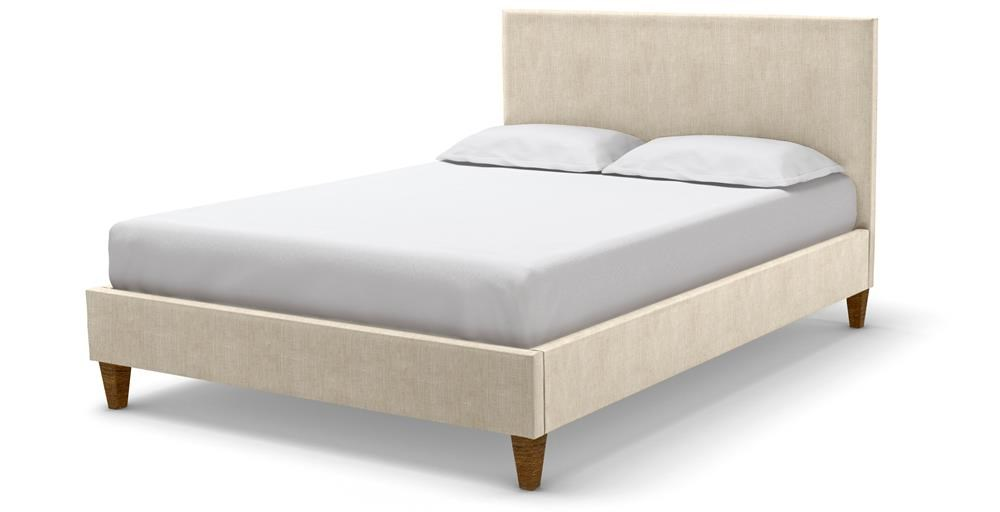 Cameron King Bedstead - Marmore Textured Weave