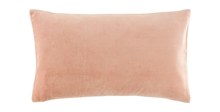 Rectangular Velvet Vintage Blush Cushion