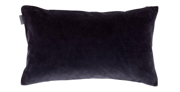 Rectangular Velvet Prussian Blue Cushion