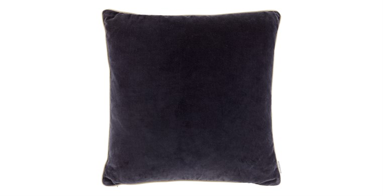 Square Velvet Prussian Blue Cushion